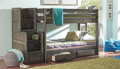 Coaster Home Furnishings 400834 Wrangle Hill Collection Stairway Chest, NULL
