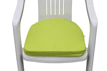 Coussin pour mobilier de jardin - Coussin arrondi pour fauteuil de ...