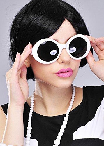 années de Girl Soleil Blanches pour Go Femme 1960 Lunettes Go Delights 5Hwqzz