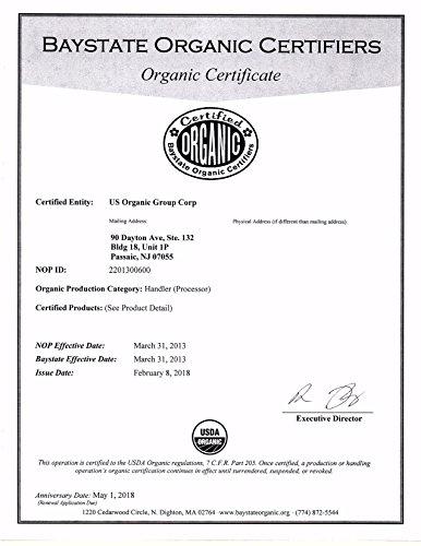 US Organic Moroccan Argan Oil, USDA Certified Organic,100% Pure & Natural, Cold Pressed Virgin, Unrefined, Origin_Morocco (1 Gallon (128 oz)) by US Organic (Image #3)