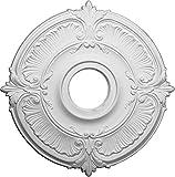 Ekena Millwork CM18AT 18-Inch OD x 4-Inch ID x 5/8-Inch Attica Ceiling Medallion