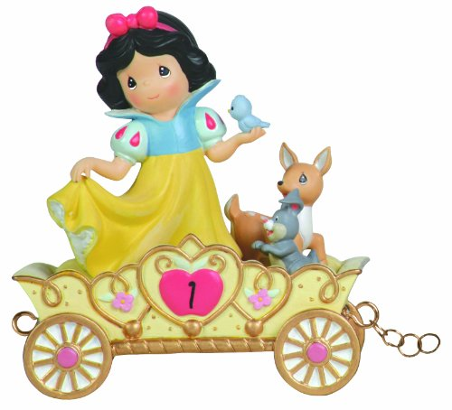 Snow White Birthday - Precious Moments, Disney Showcase Collection,  May Your Birthday Be The Fairest Of Them All, Age 1, Disney Birthday Parade, Resin Figurine, 104403