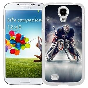 Attractive Galaxy S4 Case Design with Rangers Henrik hockey Samsung Galaxy S4 SIV S IV I9500 I9505 White Case