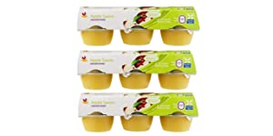 Giant Food Unsweetened Applesauce 3 Pack of 6