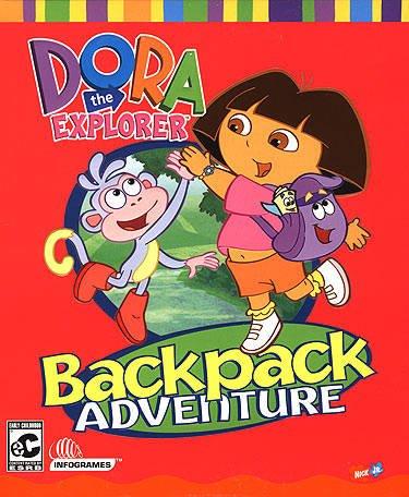 Interactive Dora the Explorer Backpack Adventure Cd Rom Game (Pc)