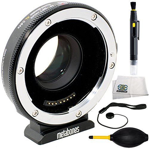 Metabones T Speed Booster Ultra 0.71x Adapter for Canon Full-Frame EF-Mount Lens to Micro Four Thirds-Mount Camera (MB_SPEF-M43-BT4) 4PC Accessory Kit by SSE