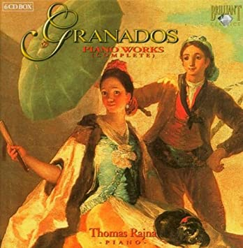 Enrique Granados, Thomas Rajna - Enrique Granados: Piano Works (Complete) - Thomas Rajna, Piano - Amazon.com Music