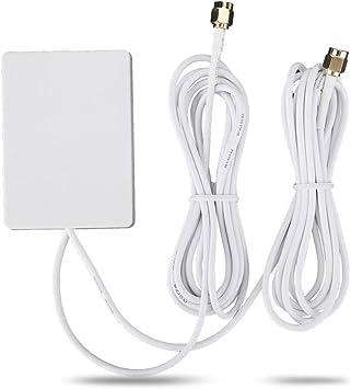 Oumij WiFi Router Y428 SMA 4G LTE28DBI Antena Dual de ...