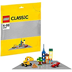 LEGO Classic Base Extra Large Building Plate 15 x 15 Inch Platform, Gray | 10701