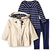 Nautica Baby Jacket, Shirt and Legging, Linen, 9 Months