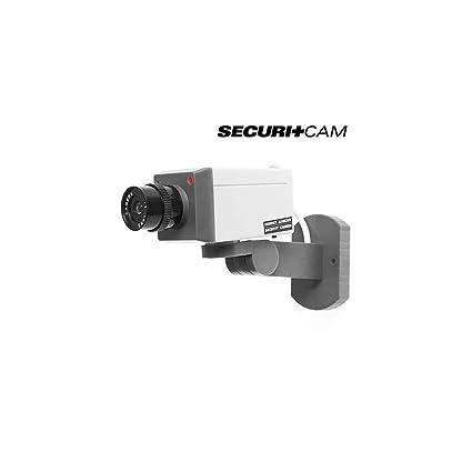 Bitblin - Cámara de Vigilancia con Sensor de Movimiento, Originales, Seguridad, Color Blanco