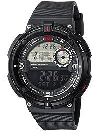 Men's 'Twin Sensor' Quartz Resin Casual Watch,...