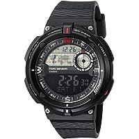 """Casio """"Twin Sensor Resina de cuarzo reloj Casual de los hombres, color: negro (Modelo: sgw-600h-1bcf)"""