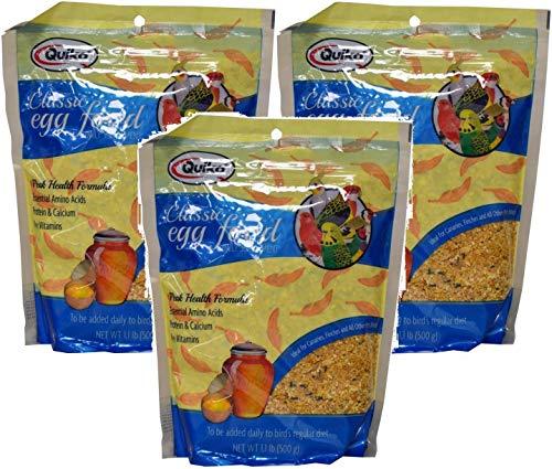 Food Birds Egg - Quiko Classic Eggfood Supplement All Birds (Pack of 3)