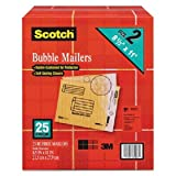 2 Pack of 25 Scotch 8.5 x 11 inches Bubble Mailer
