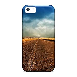 meilz aiaiHot MdE33528rcYW Dirt Road Under Stormy Clouds Cases Covers Compatible With iphone 4/4smeilz aiai