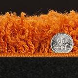 "Ottomanson Collection shag area rug, 7'10"" x 9'10"", Orange"