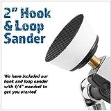 2 inch Diameter Bowl Sander with Dual Bearing Head