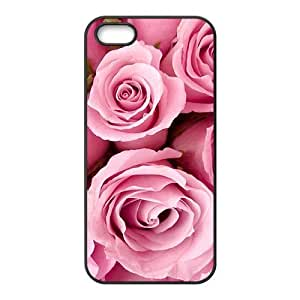 Delicate pink roses lovely phone Case For Iphone 6 Plus (5.5 Inch) Cover