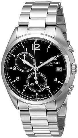 Hamilton Men's H76512133 Aviation Stainless Steel Watch - Hamilton Da Polso Al Quarzo