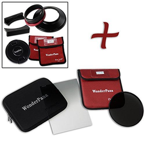 WonderPana FreeArc XL Essential nd32 0.6ハードエッジキットfor Canon EF 11 – 24 mm f / 4l USMレンズ(フルフレーム35 mm)   B01DL0DLBU