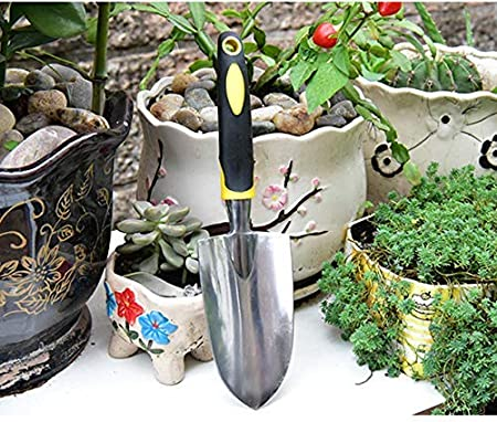 Amazon.com: Garden Hand Tools - Paleta y desbrozadora, negro ...