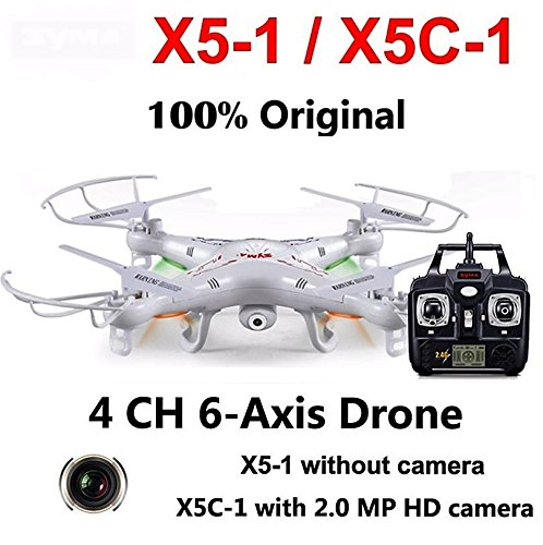 SKYEXPO X5C-1 (Upgrade version Syma x5c ) Quadcopter Drone With (Large Blade Balancing Kit)