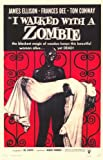 I Walked With a Zombie 11 x 17 Movie Poster - Style B