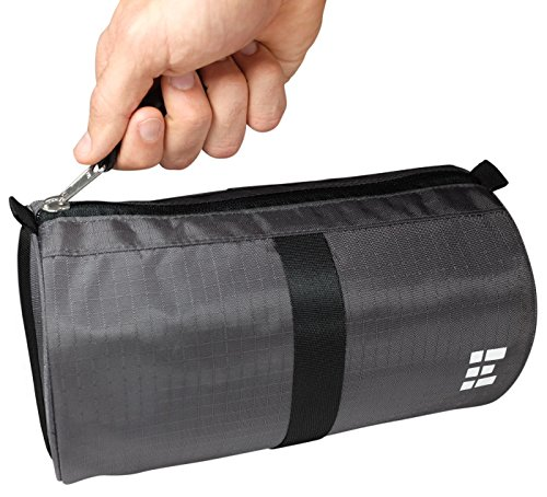(Zero Grid Travel Dopp Bag - Toiletry Kit for Men, Shadow)