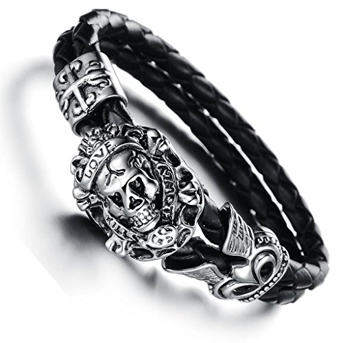 3Aries Stainless Steel Devil Skull