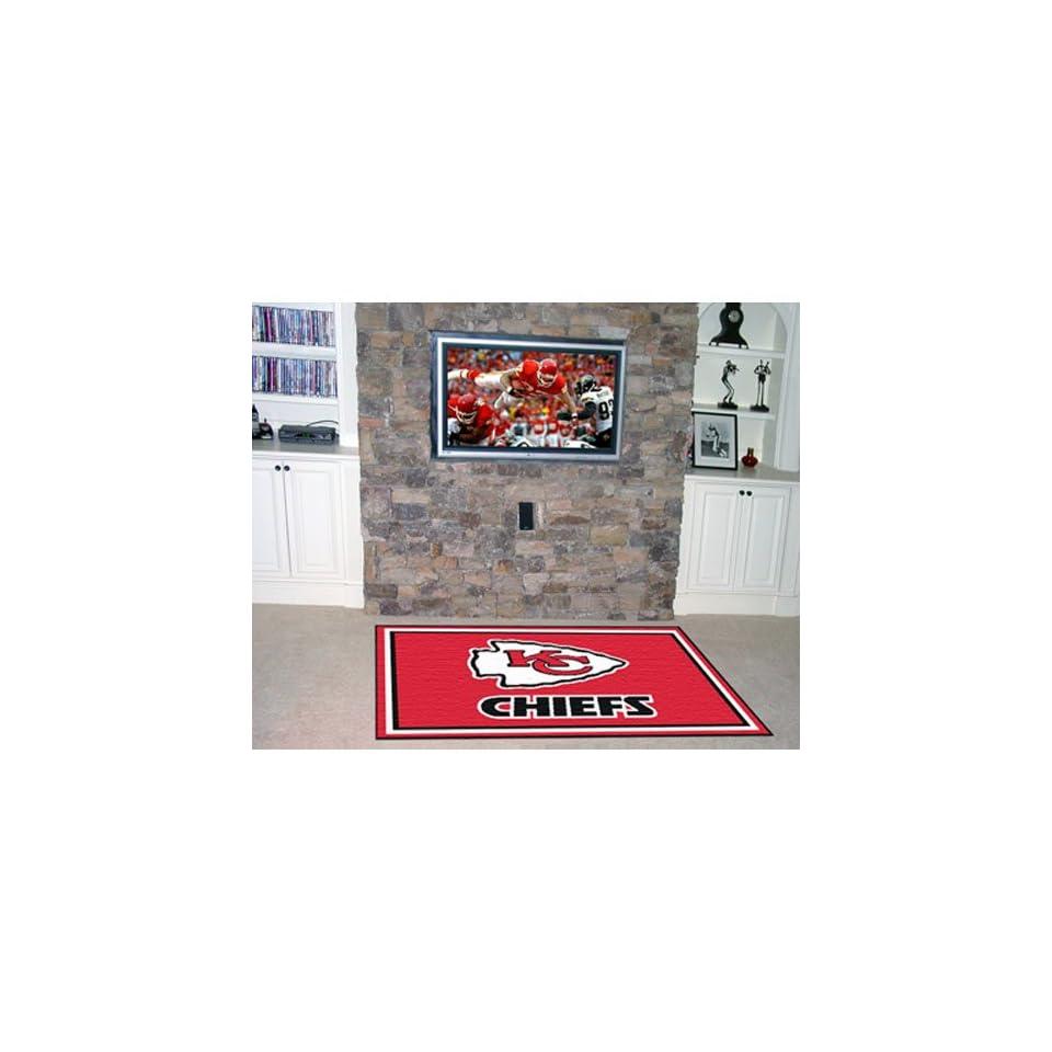 BSS   Kansas City Chiefs NFL Floor Rug (4x6)