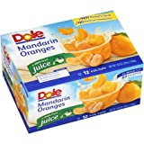 Dole Mandarin Oranges in 100% Juice, 4 Oz, 12 Count