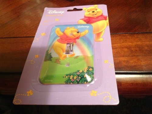 Pooh Switchplate (Disney Winnie the Pooh Switchplate Cover - Baby Nursery Kids Bedroom Light Switch Wall Decor)