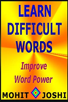 Learn Difficult Words (English Edition) por [Joshi, Mohit]