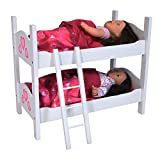 #7: The New York Doll Collection Bunk Bed for Twin Dolls fits 18 Inch Dolls