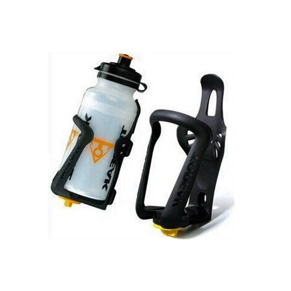 Ogquaton Portabottiglie per bevande Portabici regolabile Portaborraccia per bicicletta Supporto da manubrio portatile in plastica Accessorio per bicicletta Elegante e popolare