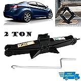 Scissor Jack 2 Ton with Crank Handle Rustproof Car Stabilizer Lift for Hyundai Sonata/Elentra/Genesis/Veloster US Stock