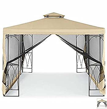 OPEN BOX Replacement Canopy For JCPenneyu0027s 2009 10x10 Outdoor Oasis Gazebo