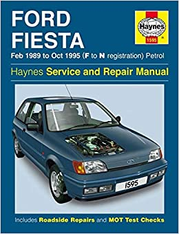 Ford Fiesta Petrol 1989 95 Service And Repair Manual Jones Robert T H 0038345015953 Books