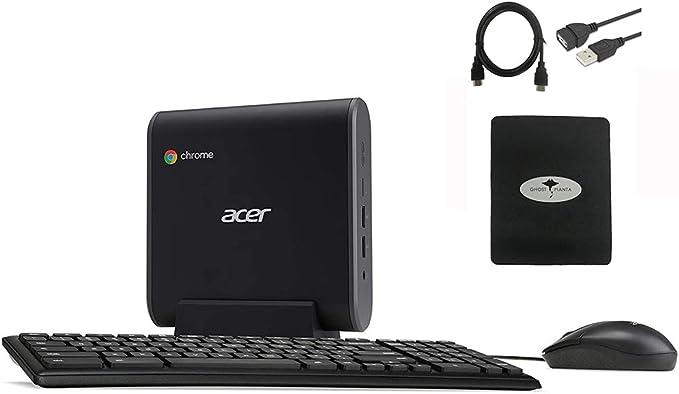 2020 Acer Chromebox CXI3 Premium Mini PC Desktop Computer, Intel Celeron 3867U(>N4000), 8GB RAM, 128GB SSD, 802.11ac WiFi 5, USB-C, HDMI, Chrome OS, Keyboard and Mouse w/GM Accessories   Amazon