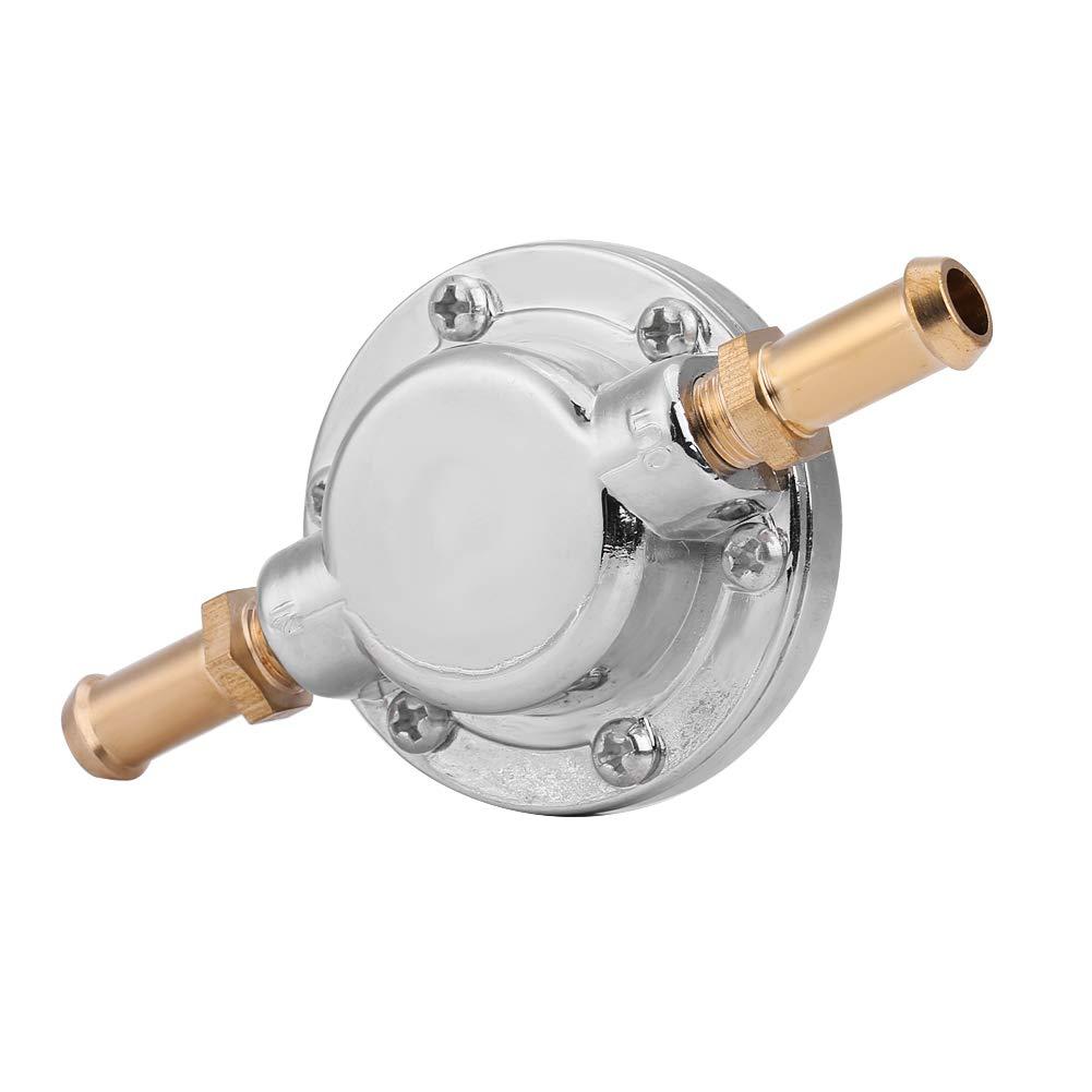 KIMISS R/égulateur Pression de Carburant Gunmetal Universel Actionneur de R/égulateur de Pression pour carburateur