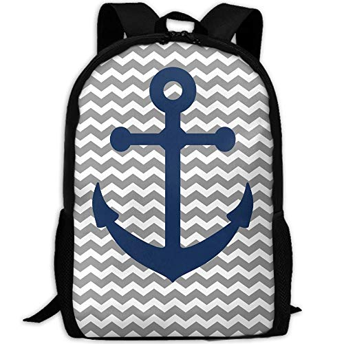 DKFDS Backpacks Most Durable Lightweight New Water Resistant College School Computer Bag - Anchors Away Free Printables