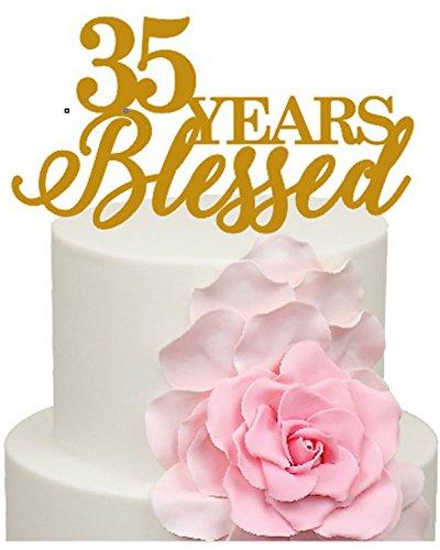 Immagini Anniversario Di Matrimonio 35 Anni.35 Anni Blessed 35th Anniversario Di Matrimonio Decorazione
