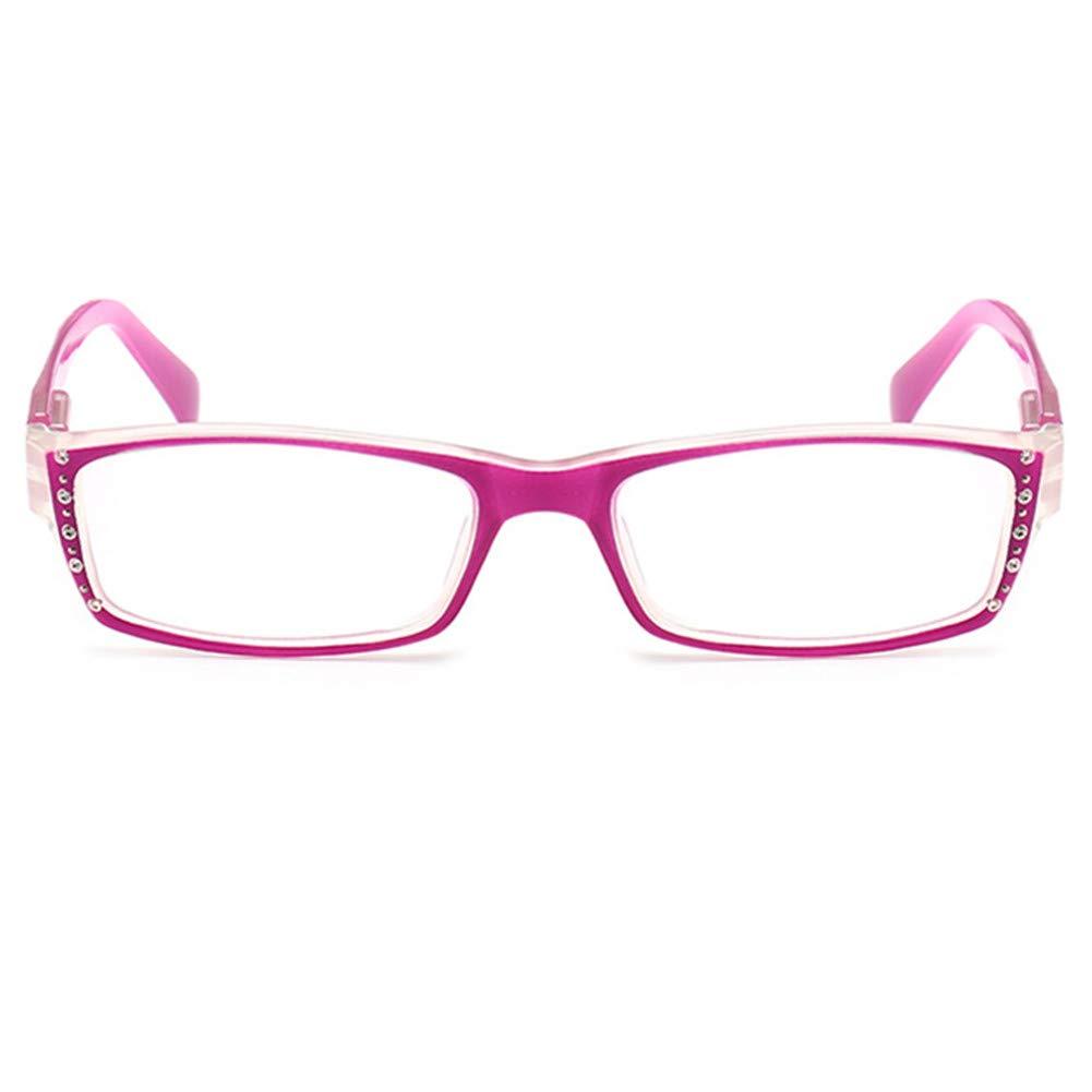 YUNCAT Lesebrille Rechteck Rahmen Federscharniere Enthalten Sonne Lesebrille Damen Herren von 1.0 1.5 2.0 2.5 3.0 3.5 4.0 Blue Light Filter Brille Blendschutz