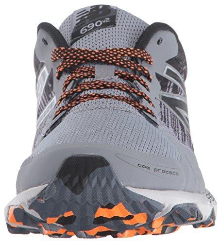New Balance 690v2, Scarpe da Trail Running Uomo Multicolor(Grey/Black)
