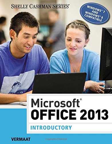 Microsoft Office 2013: Introductory (Shelly Cashman - Niagara Store Outlet