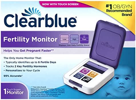 Clearblue Fertility Monitor, Touch Screen, Helps You Get Pregnant Faster