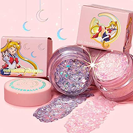Amazon.com : Sailor Moon x ColourPOP Prism Power Glitter Gel : Beauty