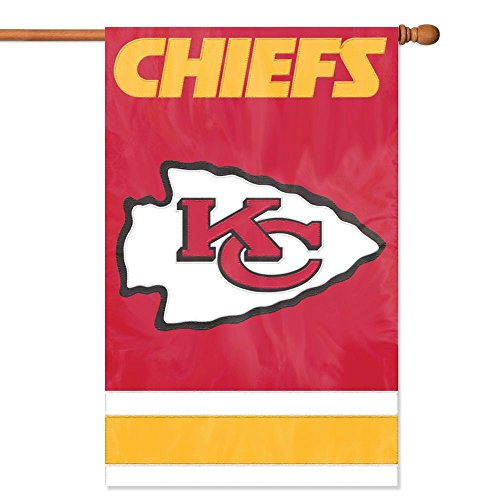 Party Animal Kansas City Chiefs Banner NFL Flag]()
