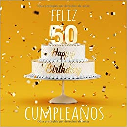 Feliz 50 Cumpleaños: Libro de visitas con 110 ... - Amazon.com